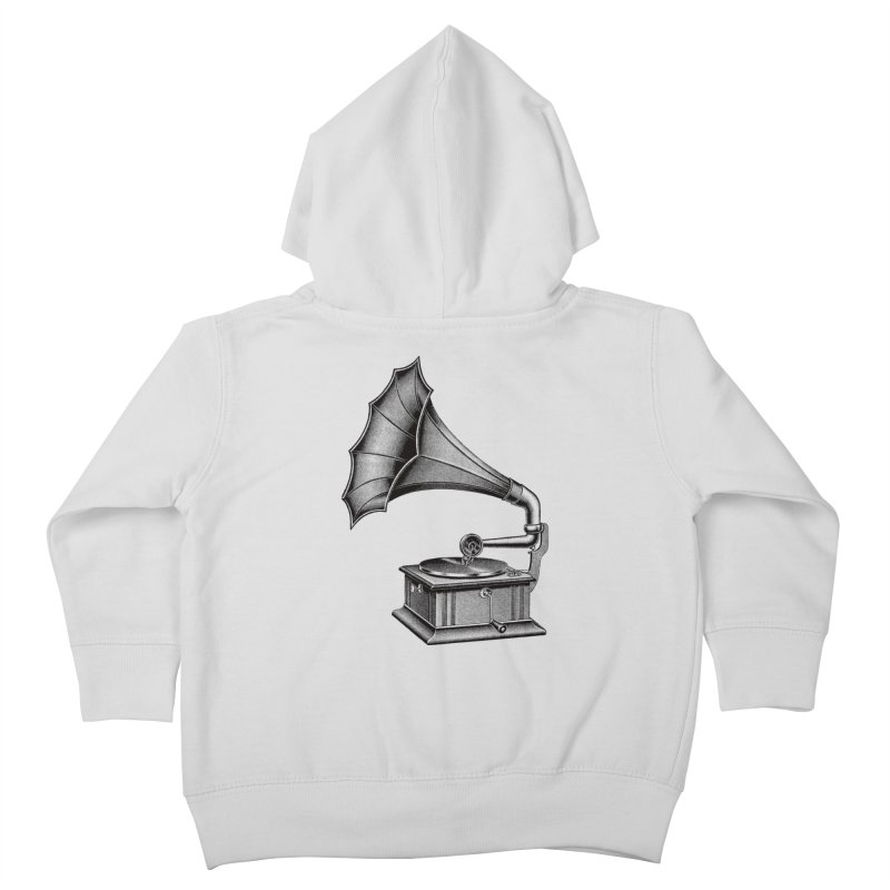 Phonograph Kids Toddler Zip-Up Hoody by Mitchell Black's Artist Shop