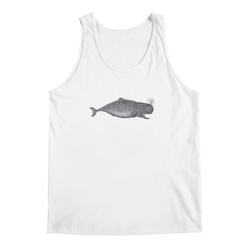 Moby Men's Regular Tank by Mitchell Black's Artist Shop
