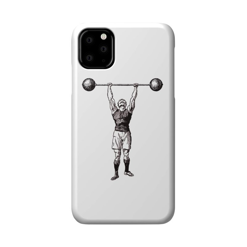 Strong Man Accessories Phone Case by Mitchell Black's Artist Shop