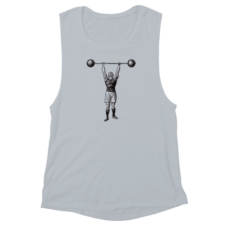 Strong Man Women's Muscle Tank by Mitchell Black's Artist Shop