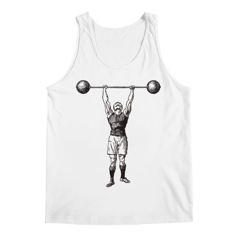 Strong Man Men's Regular Tank by Mitchell Black's Artist Shop