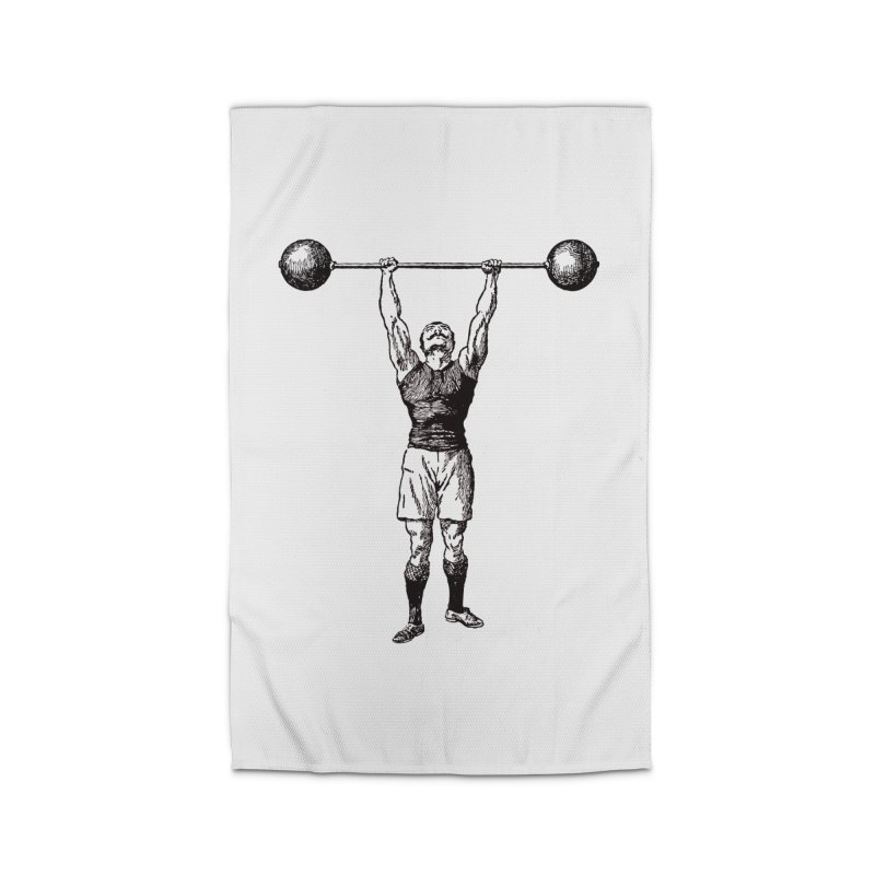 Strong Man Home Rug by Mitchell Black's Artist Shop