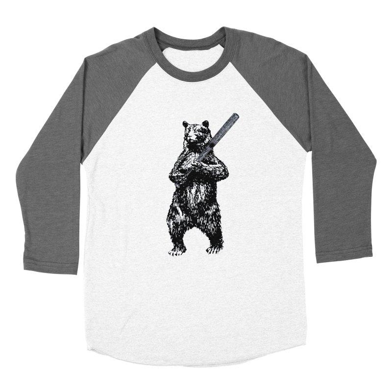 GO CUBBIES! Men's Baseball Triblend Longsleeve T-Shirt by Mitchell Black's Artist Shop