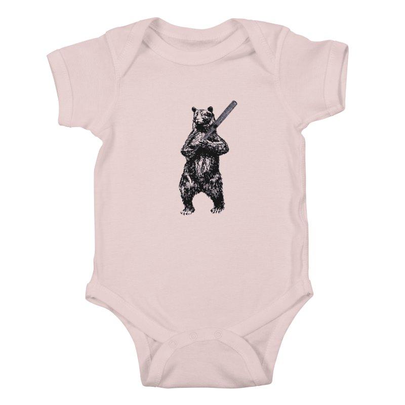 GO CUBBIES! Kids Baby Bodysuit by Mitchell Black's Artist Shop
