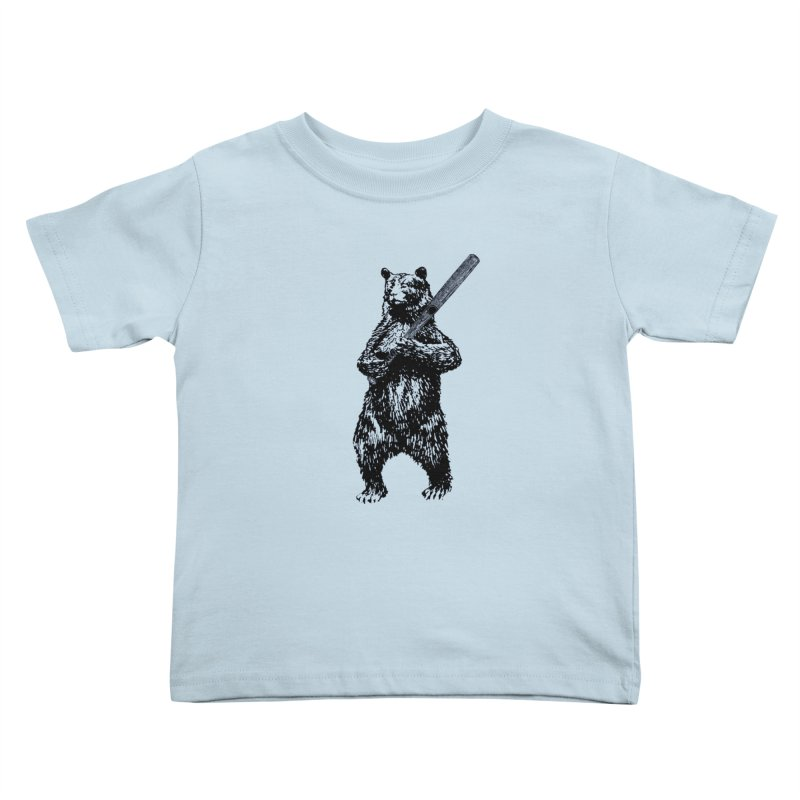 GO CUBBIES! Kids Toddler T-Shirt by Mitchell Black's Artist Shop