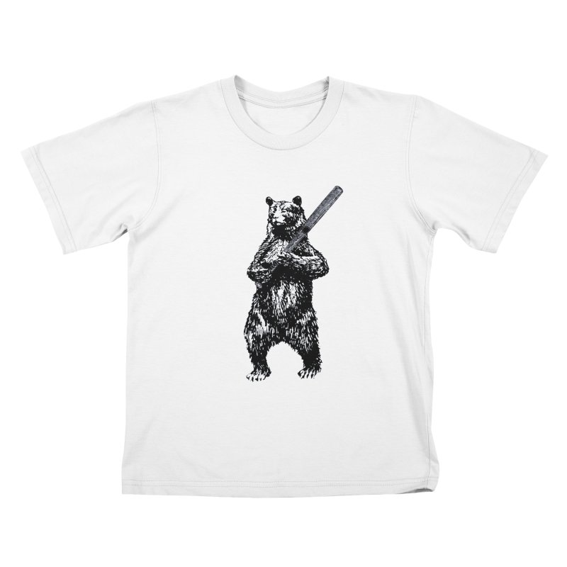 GO CUBBIES! Kids T-Shirt by Mitchell Black's Artist Shop