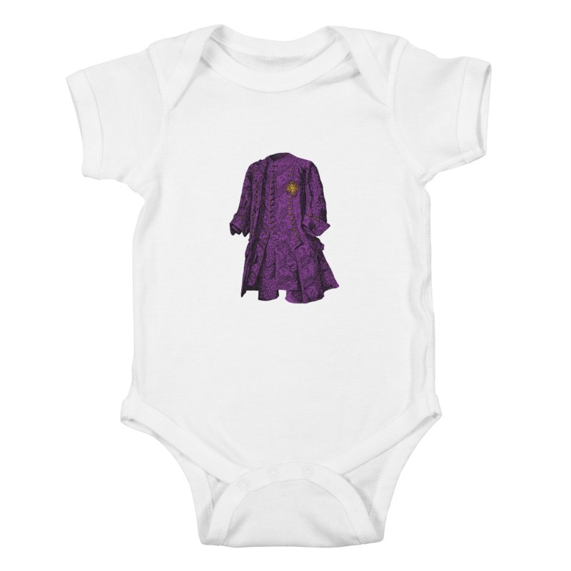 The Purple One Kids Baby Bodysuit by Mitchell Black's Artist Shop