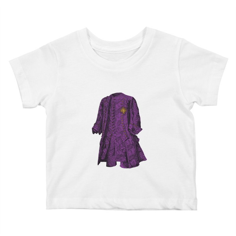 The Purple One Kids Baby T-Shirt by Mitchell Black's Artist Shop