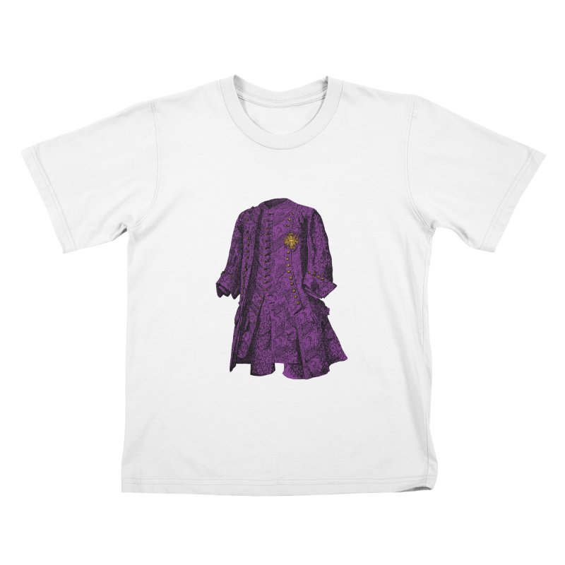 The Purple One Kids T-shirt by Mitchell Black's Artist Shop