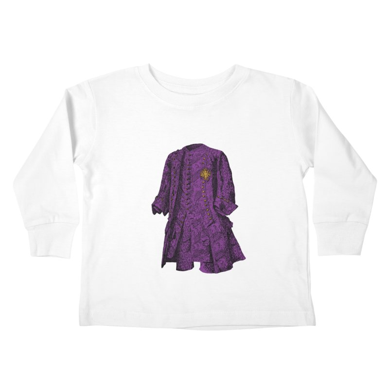 The Purple One Kids Toddler Longsleeve T-Shirt by Mitchell Black's Artist Shop