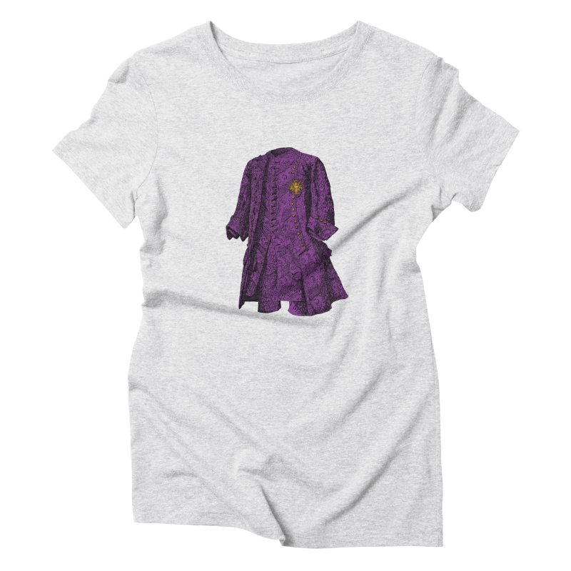 The Purple One Women's Triblend T-Shirt by Mitchell Black's Artist Shop