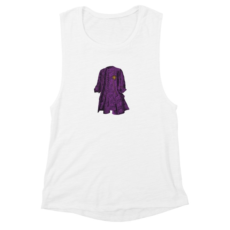 The Purple One Women's Muscle Tank by Mitchell Black's Artist Shop