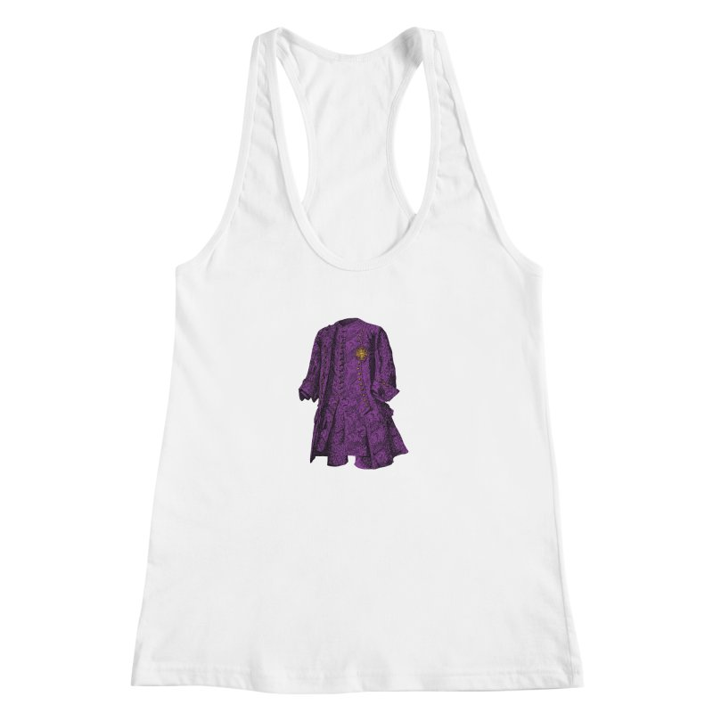 The Purple One Women's Racerback Tank by Mitchell Black's Artist Shop