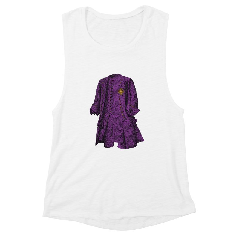 The Purple One Women's Muscle Tank by Mitchell Black's Artist Shop