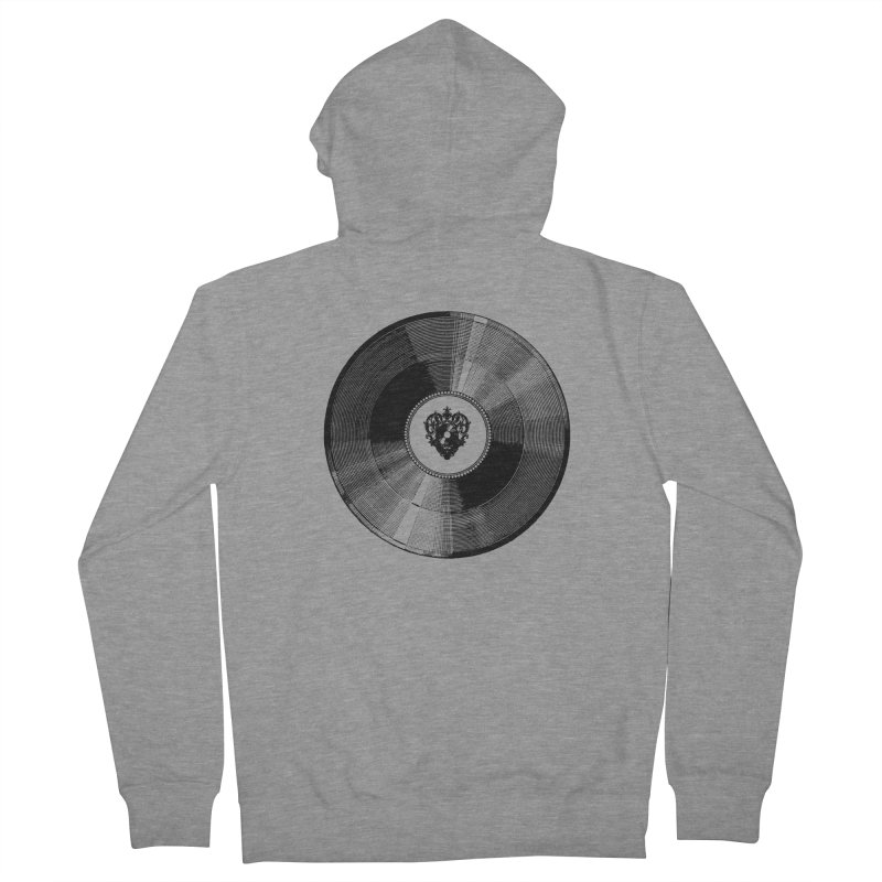 12 inches Men's Zip-Up Hoody by Mitchell Black's Artist Shop