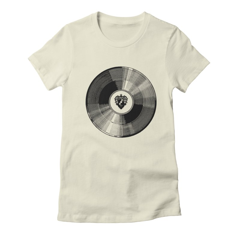 12 inches Women's Fitted T-Shirt by Mitchell Black's Artist Shop