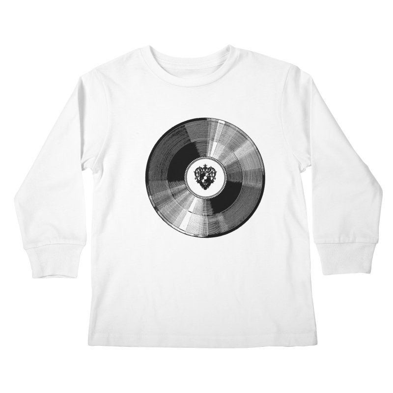 12 inches Kids Longsleeve T-Shirt by Mitchell Black's Artist Shop