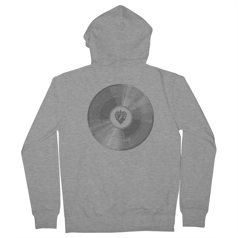Platinum Record Men's Zip-Up Hoody by Mitchell Black's Artist Shop