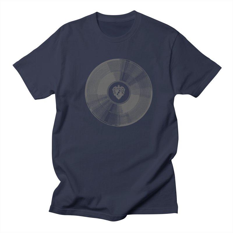 Platinum Record Men's T-shirt by Mitchell Black's Artist Shop