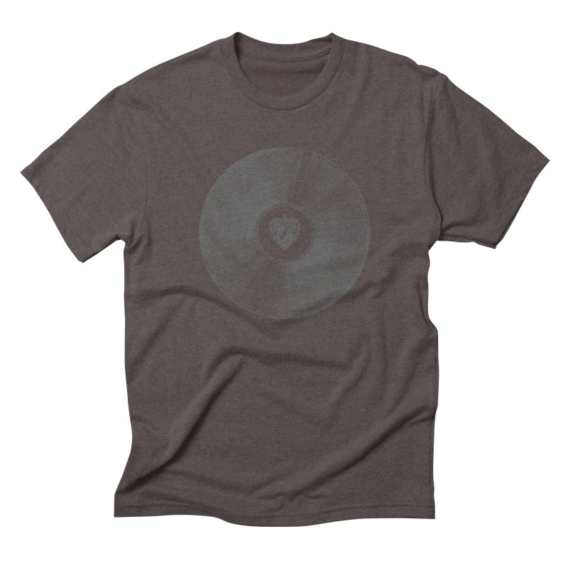 Platinum Record Men's Triblend T-shirt by Mitchell Black's Artist Shop