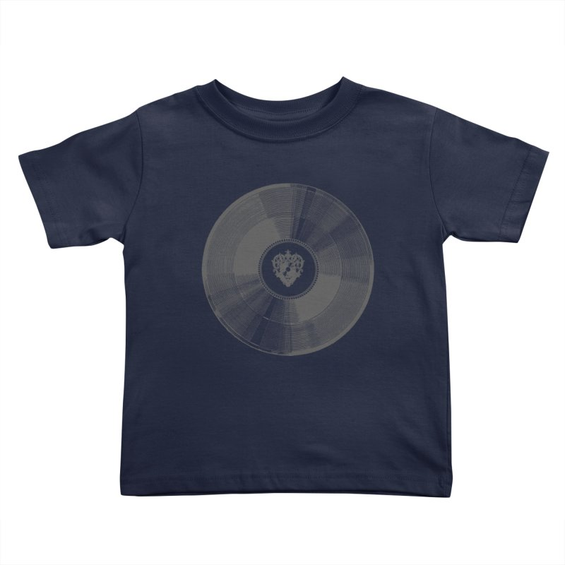Platinum Record Kids Toddler T-Shirt by Mitchell Black's Artist Shop