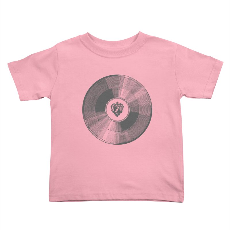 Platinum Record Kids Toddler T-Shirt by Mitchell Black's Artist Shop