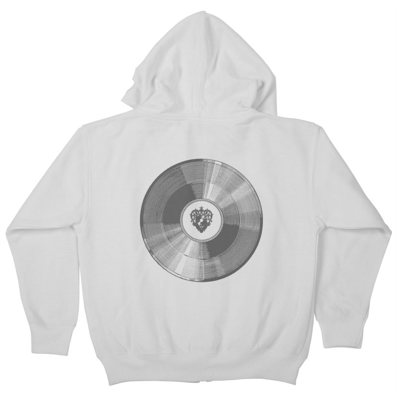 Platinum Record Kids Zip-Up Hoody by Mitchell Black's Artist Shop