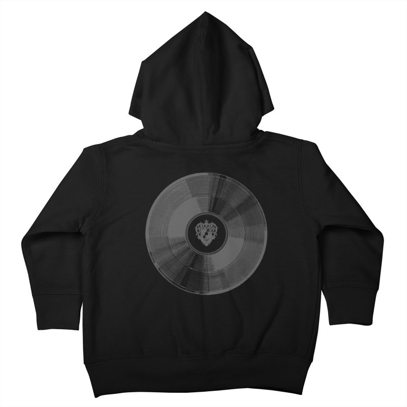 Platinum Record Kids Toddler Zip-Up Hoody by Mitchell Black's Artist Shop
