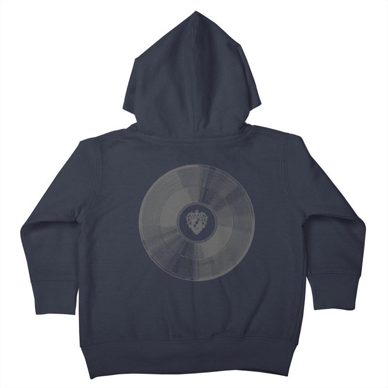 Platinum Record Kids Toddler Zip-Up Hoody by Mitchell Black's Artist Shop