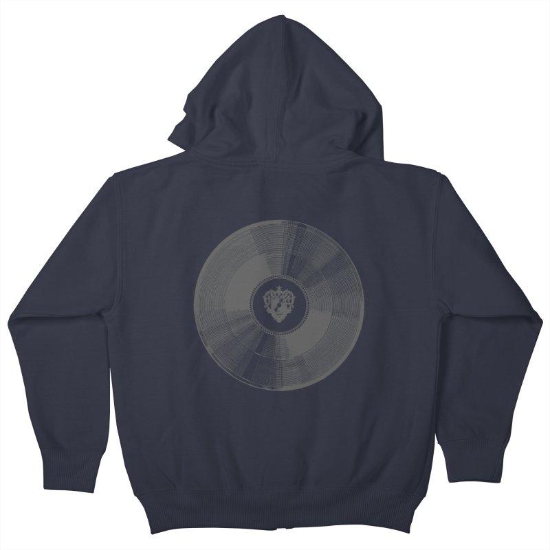 Platinum Record Kids Zip-Up Hoody by Mitchell Black's Artist Shop
