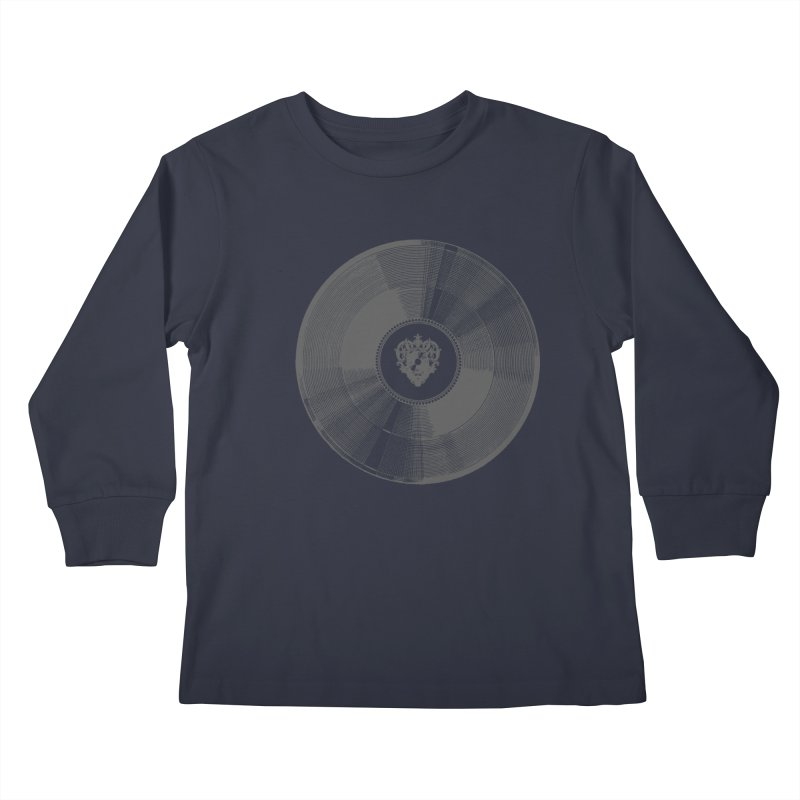 Platinum Record Kids Longsleeve T-Shirt by Mitchell Black's Artist Shop