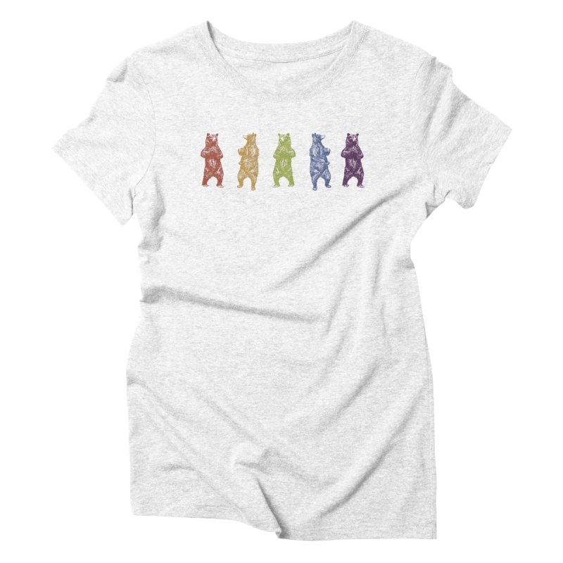 Dancing Rainbow Bears   by Mitchell Black's Artist Shop