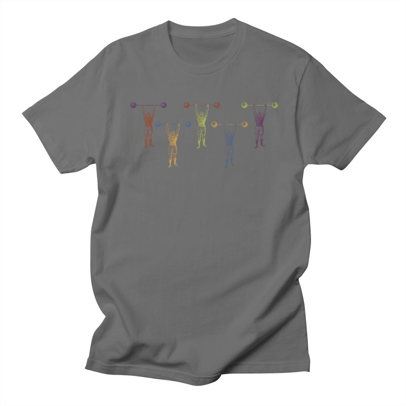 All I Need is a Strong Man Men's T-shirt by Mitchell Black's Artist Shop