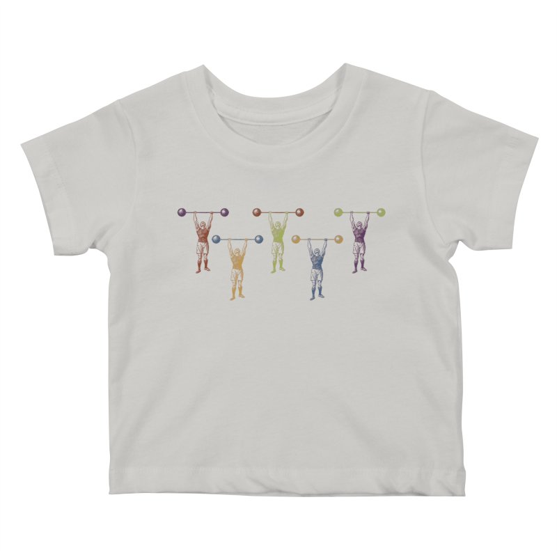 All I Need is a Strong Man Kids Baby T-Shirt by Mitchell Black's Artist Shop