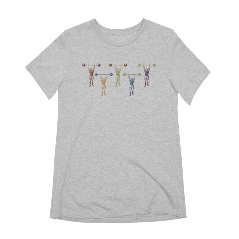 All I Need is a Strong Man Women's Extra Soft T-Shirt by Mitchell Black's Artist Shop