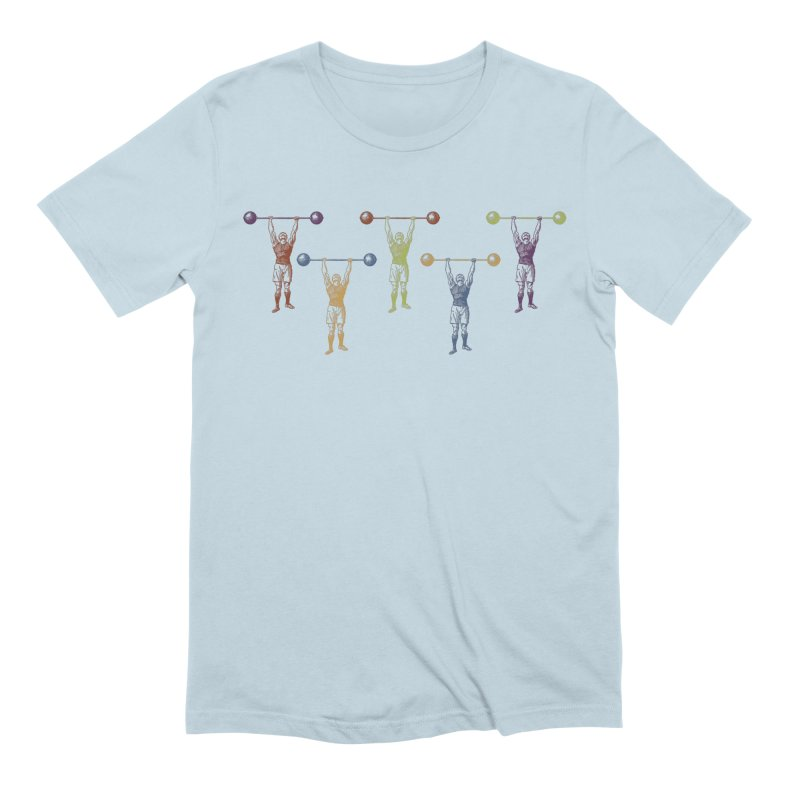All I Need is a Strong Man Men's Extra Soft T-Shirt by Mitchell Black's Artist Shop