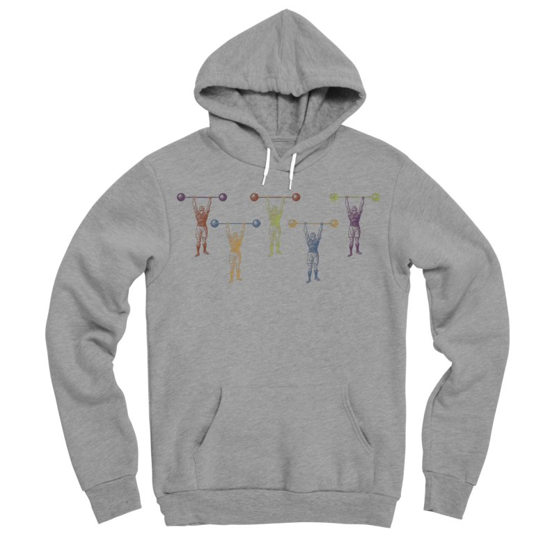 All I Need is a Strong Man Men's Sponge Fleece Pullover Hoody by Mitchell Black's Artist Shop