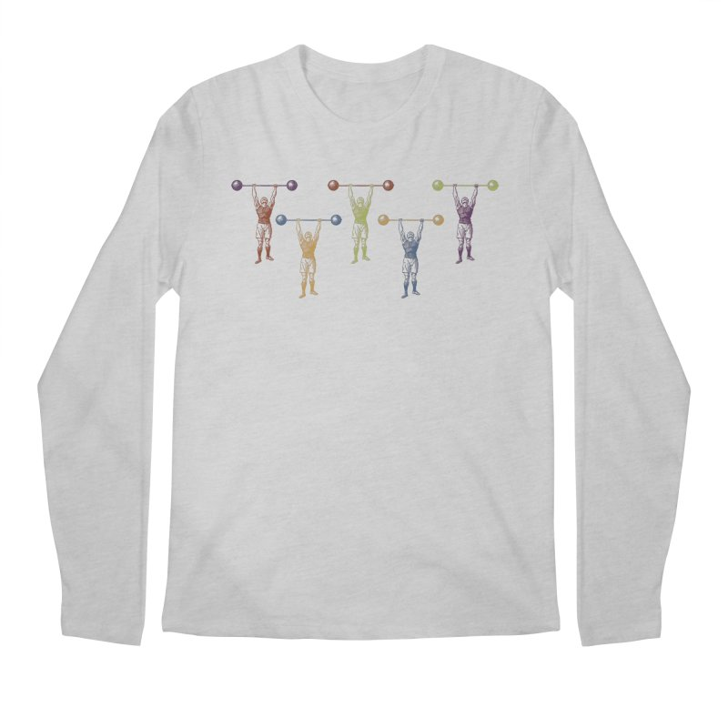 All I Need is a Strong Man Men's Regular Longsleeve T-Shirt by Mitchell Black's Artist Shop