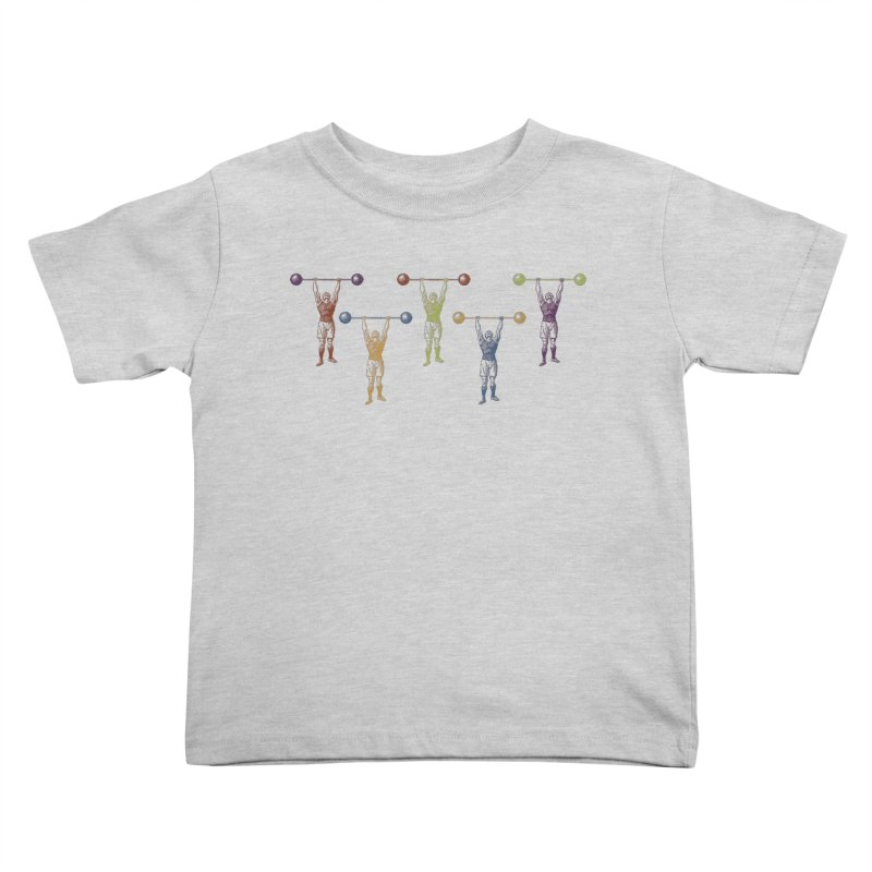 All I Need is a Strong Man Kids Toddler T-Shirt by Mitchell Black's Artist Shop