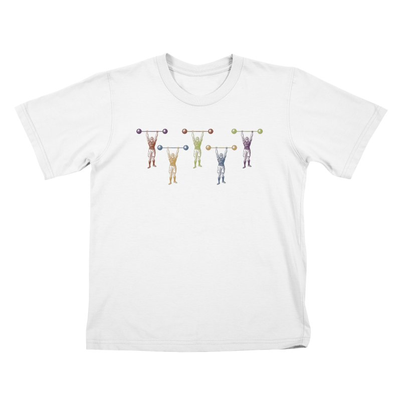 All I Need is a Strong Man Kids T-Shirt by Mitchell Black's Artist Shop
