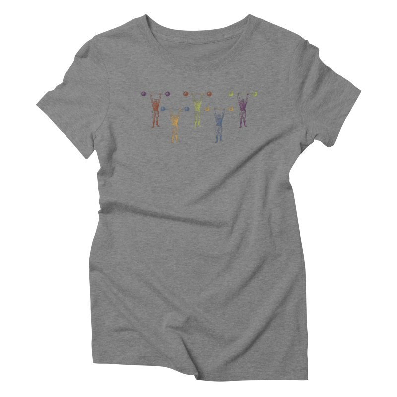 All I Need is a Strong Man Women's Triblend T-Shirt by Mitchell Black's Artist Shop