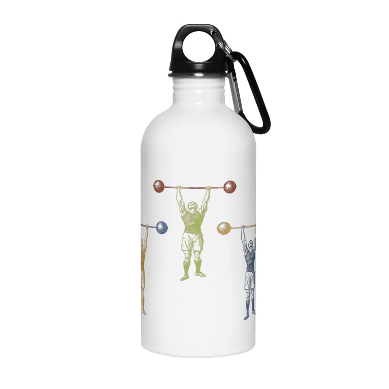 All I Need is a Strong Man Accessories Water Bottle by Mitchell Black's Artist Shop