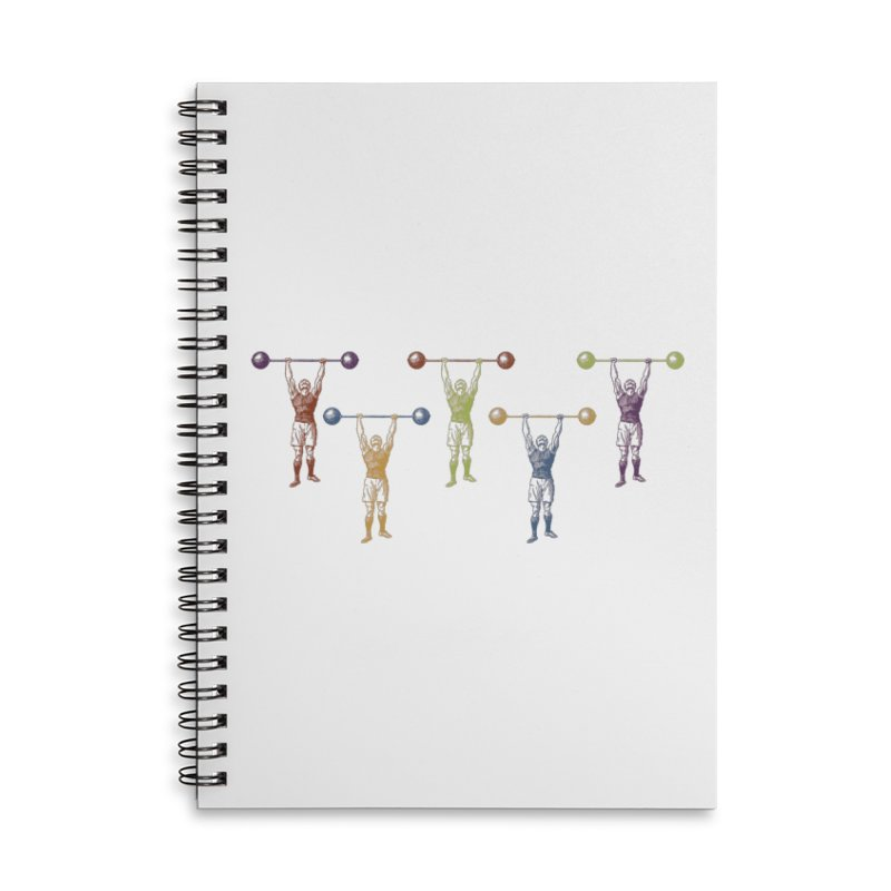 All I Need is a Strong Man Accessories Lined Spiral Notebook by Mitchell Black's Artist Shop