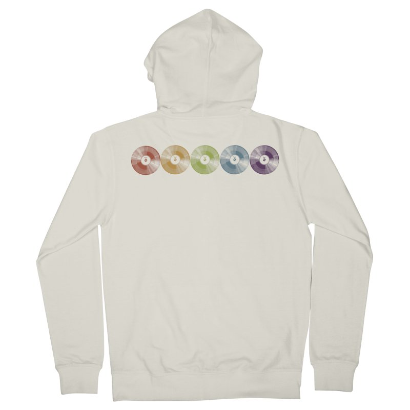 Put a Record On Women's Zip-Up Hoody by Mitchell Black's Artist Shop