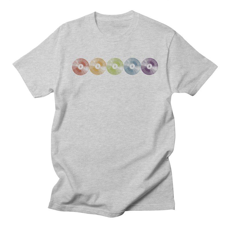 Put a Record On Men's T-shirt by Mitchell Black's Artist Shop