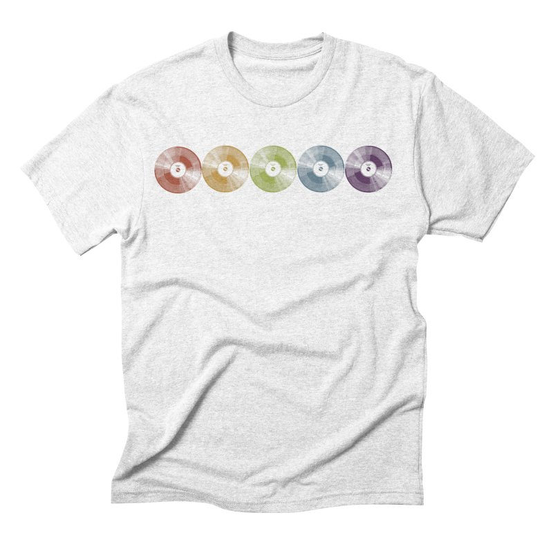 Put a Record On Men's Triblend T-shirt by Mitchell Black's Artist Shop