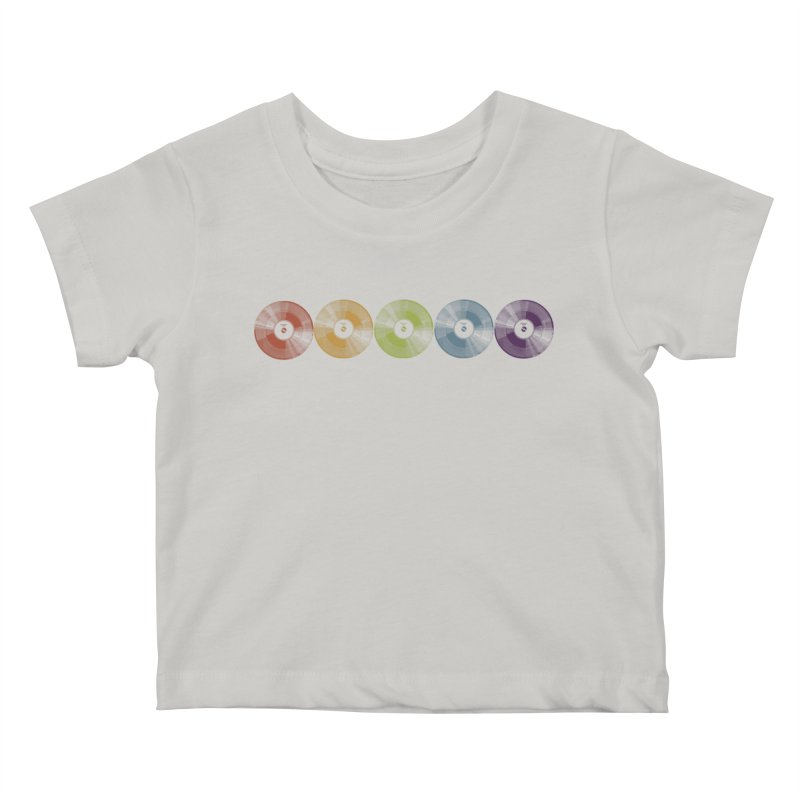 Put a Record On Kids Baby T-Shirt by Mitchell Black's Artist Shop