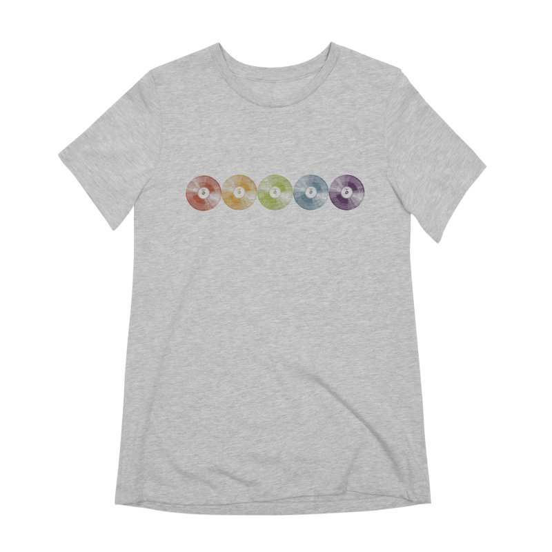 Put a Record On Women's Extra Soft T-Shirt by Mitchell Black's Artist Shop