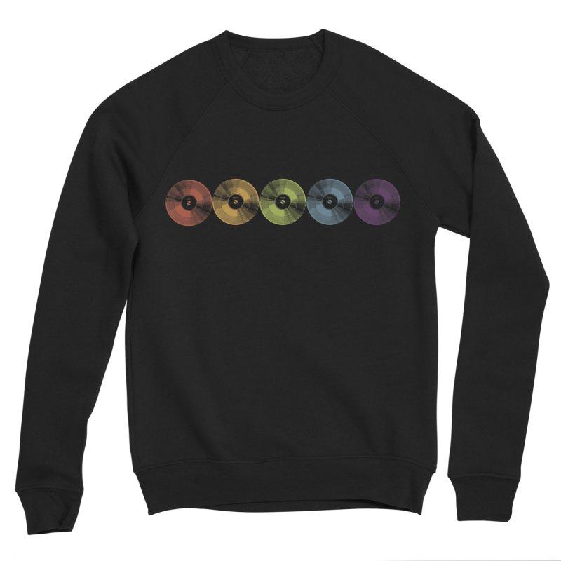Put a Record On Women's Sponge Fleece Sweatshirt by Mitchell Black's Artist Shop