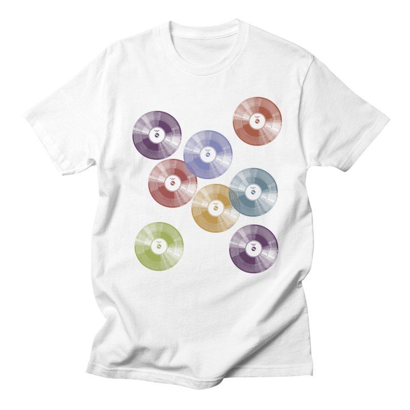 Hey Mr. DJ Men's Regular T-Shirt by Mitchell Black's Artist Shop